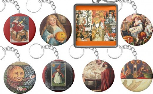 These are only a some of the Halloween Vintage Product line in Sandyspider Gifts on Zazzle