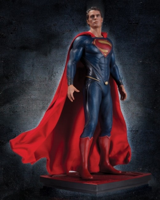 Henry's Man of Steel Collectible statue