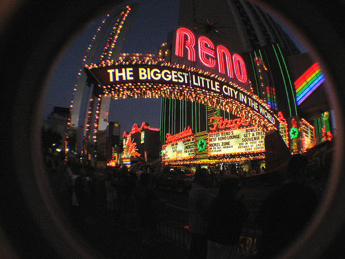 Reno, Nevada The Biggest Little City in the World