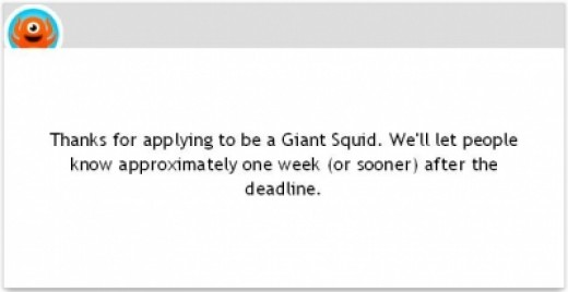 The Application is Submitted!
