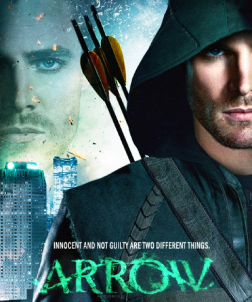 Olli~Arrow Close up Poster