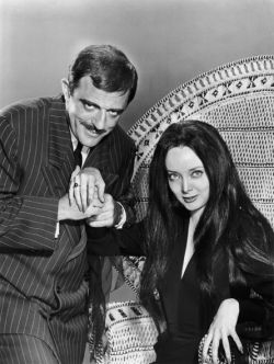 Gomez and Morticia Addams, the glue that kept them together.