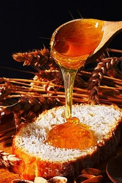 Test for water in honey
