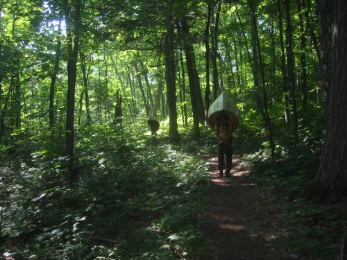 Portaging in the Boundary Waters
