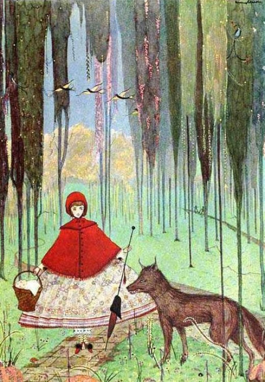 Red Riding Hood by Charles Perrault, illustrated by Clarke