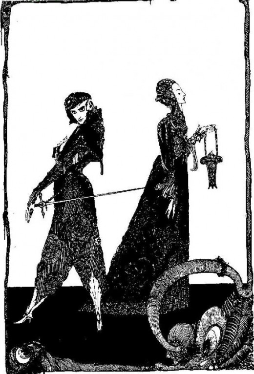 Faust and Margaret - Harry Clarke