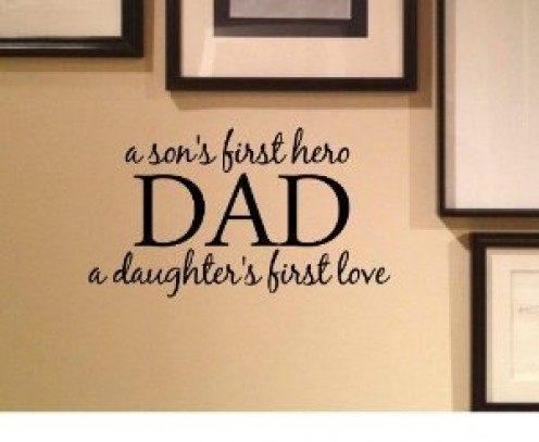 Dad Wall Decal