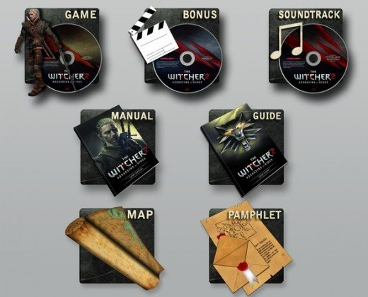 The Witcher 2 Digital Premium Edition contents.  Same deal as the Premium Edition, only in the digital form.