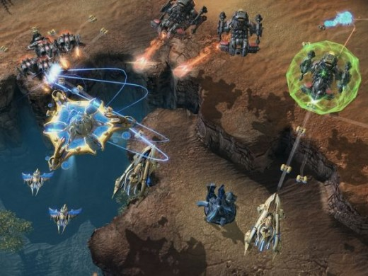 High-res eye candy... Starcraft like you've never seen before!