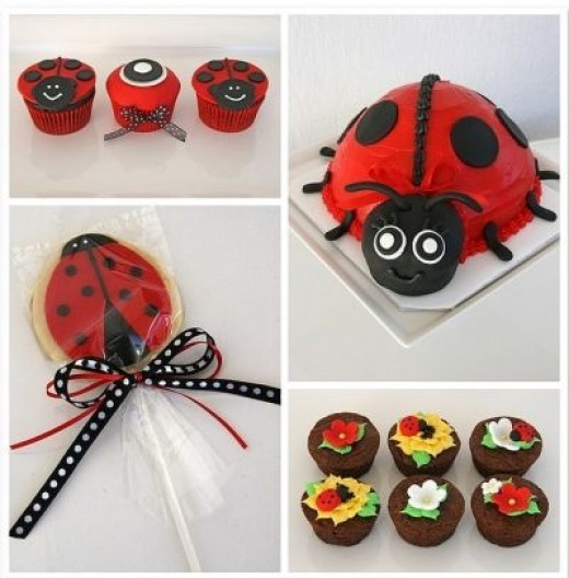 Unique Ladybug Party Favors & Treats