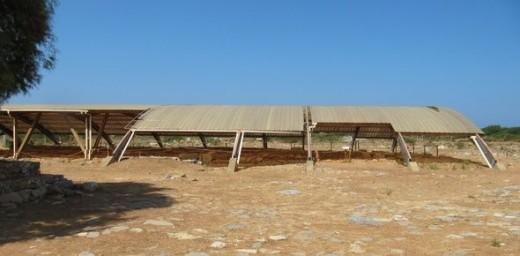 Ancient ruins in Crete.