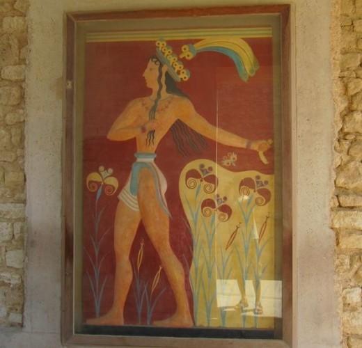 A restored fresco.