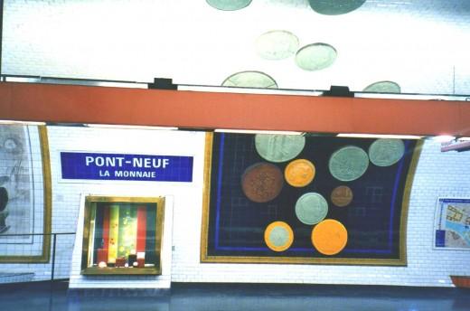 Pont Neuf Metro Station
