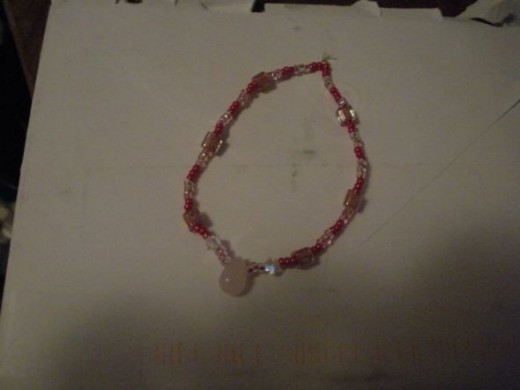 Thi sis a bracelete I made (i thin it was) for my Nana