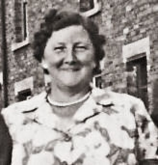 My Aunty Jenny who came from Jarrow in the north of England