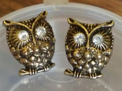 Vintage Stud Owl Earrings Review