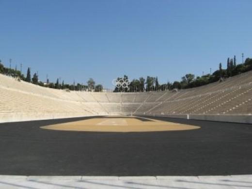 1896 Olympic Stadium, Athens, Greece