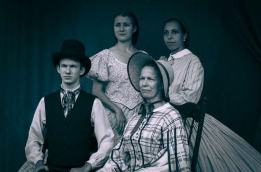 Barrington Hall Family Photo with Canon Rebel SL1