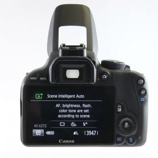 Canon Rebel SL1 Rear View