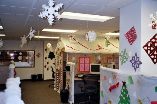 Christmas Cubicles, by grilled cheese, from Flickr