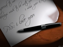Writing a Love Letter Help
