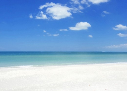 Photograph of the Gulf of Mexico by Linda