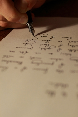Writing your love message