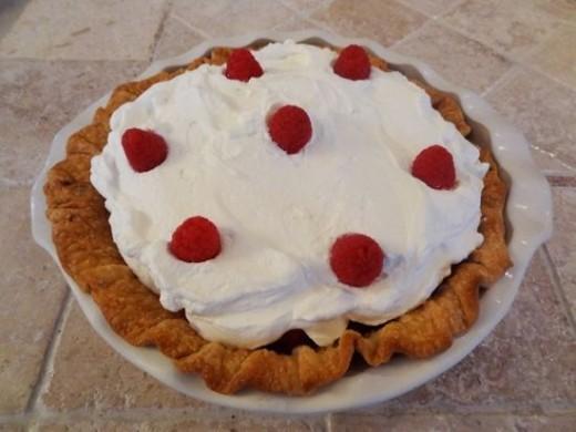 Easy Fresh Raspberry Pie
