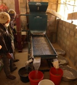 Commercial coffee hulling machine for your Brsibane coffee to sip at St Lucia