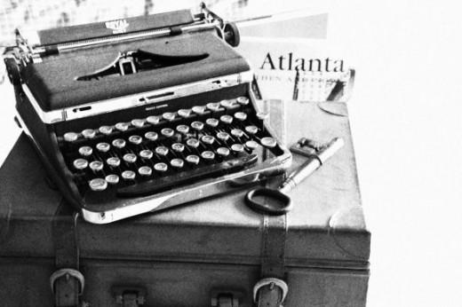Old Typewriter taken with Canon Rebel T3i