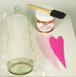 How to make a message in a bottle craft.