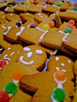 Baking Holiday Cookies