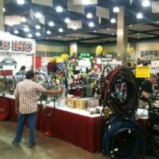 Consumer Show at Hotter'N Hell 100