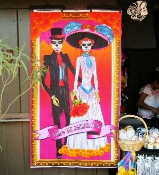 Day of the Dead wall hanging