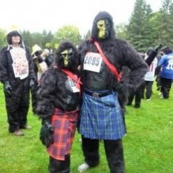 Gorilla Run of Edmonton, Alberta, Canada | 5k Charity Event