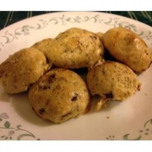 Bacon Eggnog Cookies