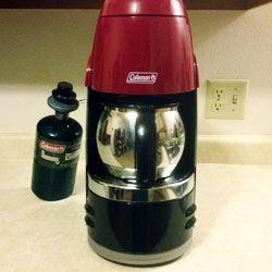 Portable Coleman Propane Coffee Maker