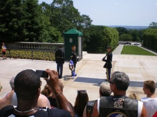 Changing of the Guard for The Unknown Soldier