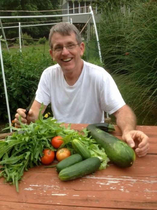 Vegetable Garden Harvest - June 16