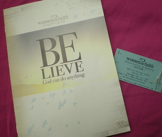 Women of Faith Ticket
