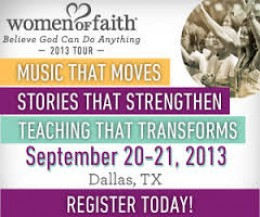 Women of Faith Event Description