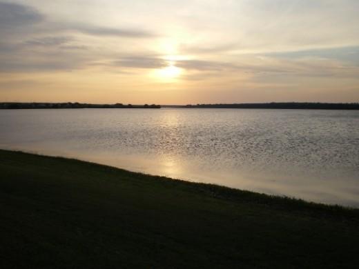 Lake Worth on military base