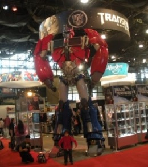 new york comic con transformer