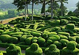 Bertrand Vernet de Marqueyssac of France built this maze as a castle and summer home with terraced gardens before the French revolution.