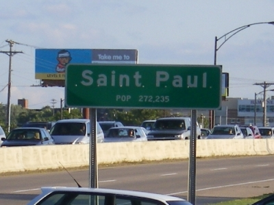 St Paul City Limit