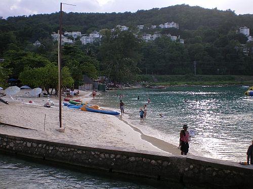 Beach in Ocho Rios, Jamaica