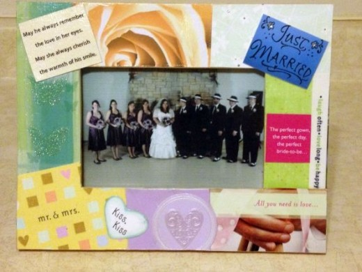 Wedding Card Frame