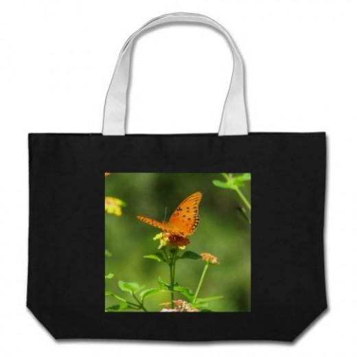 Gulf Fritillary butterflies reach their peak in autumn.