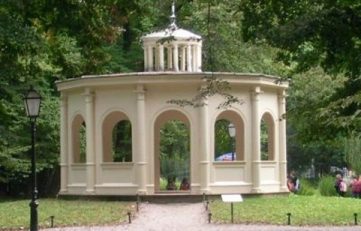 Echo Pavilion in Maksimir Park