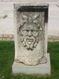 Zadar Roman fourm ruins